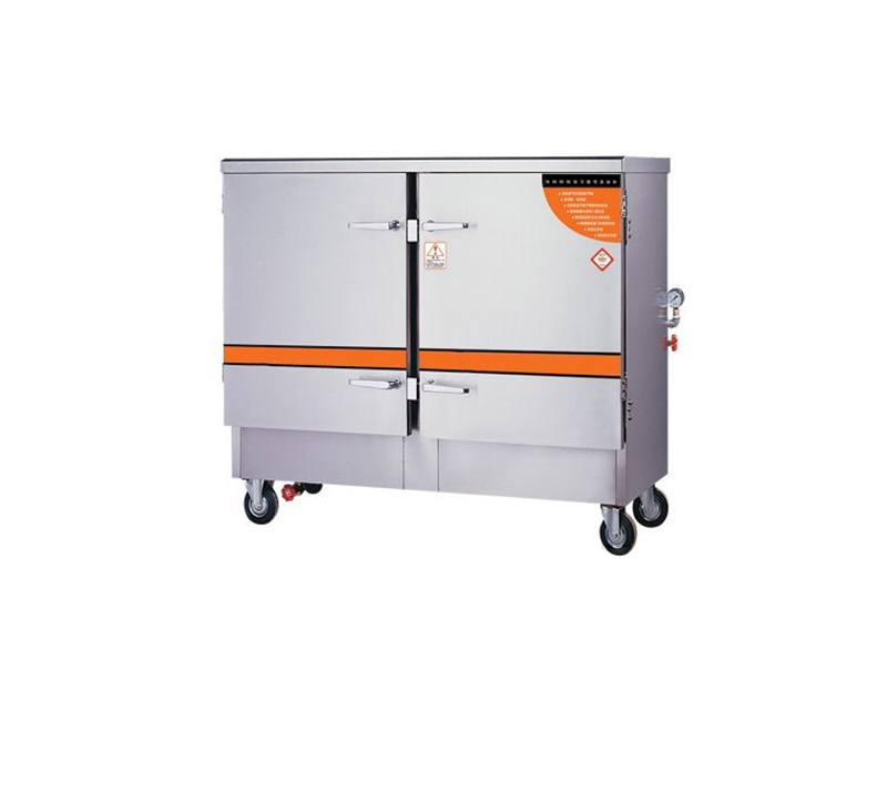 环保节能型蒸饭柜(双门)-厨房工程公司